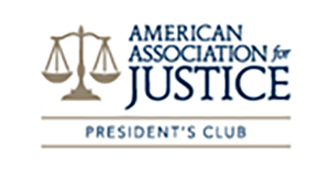 American Association of Justice President's Club Award