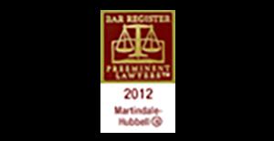 Martindale-Hubbell Award Logo.