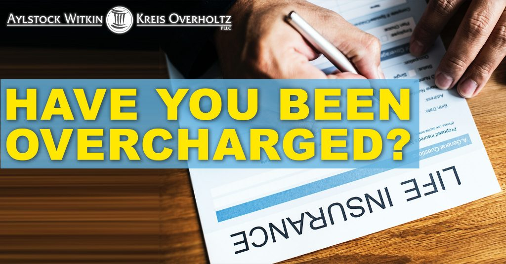 whole life insurance billing fraud overcharge