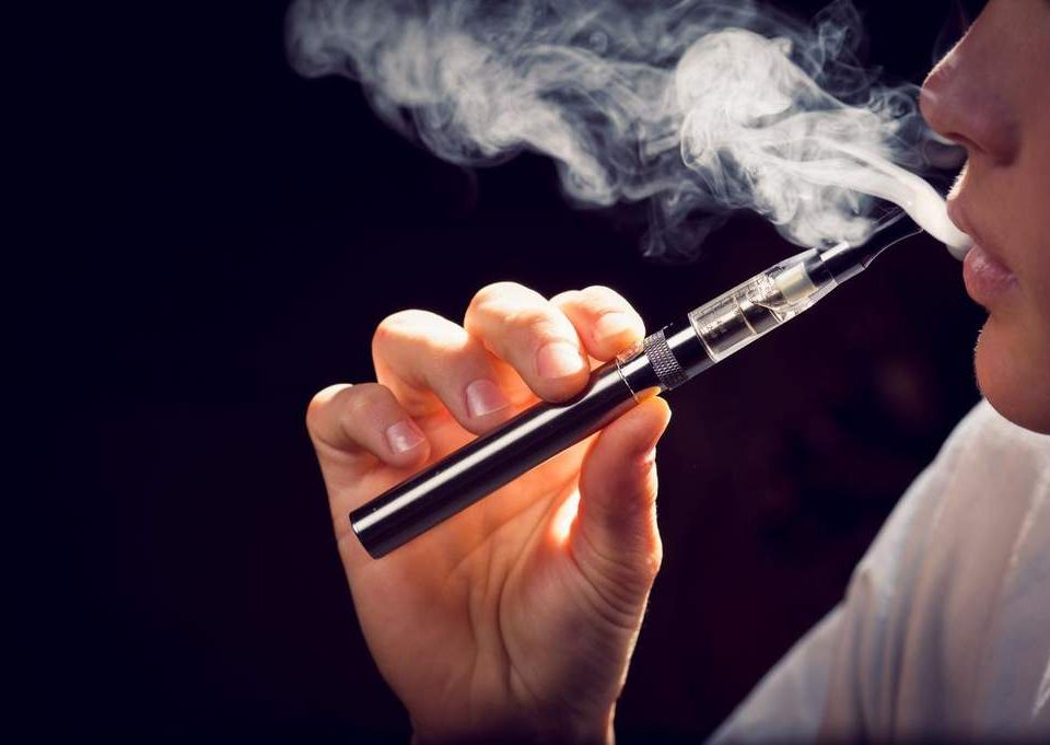 Vaping e-cigarettes mice study