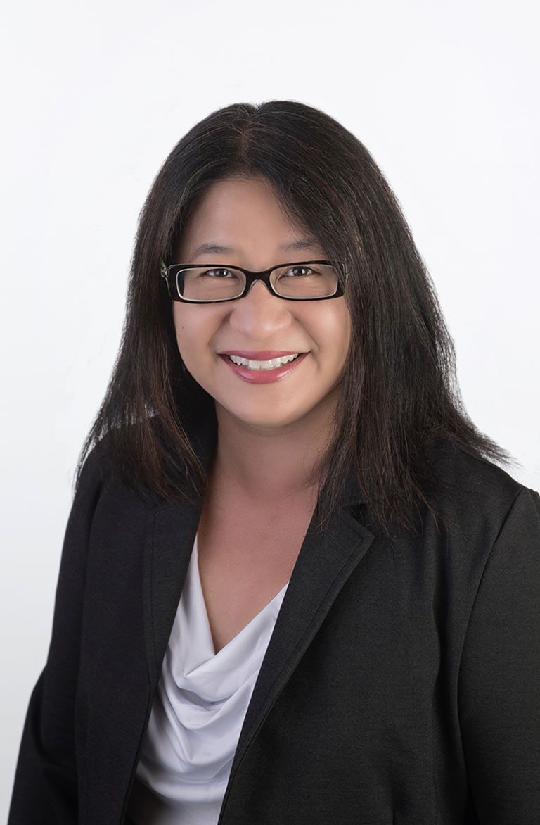 Mary Liu - California Attorney, Aylstock, Witkin, Kreis & Overholtz, PLLC. She is wearing a suit and smiling at the camera.